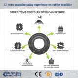 Planta de recicl Waste automática cheia do pneu