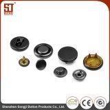 Кнопка кнопки металла Monocolor круглая индивидуальная для куртки