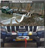 ripristino 12000lbs che tira argano elettrico potente 12V con la fune metallica per il camion