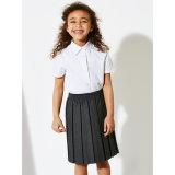 Chemise 100% primaire de filles d'école de coton