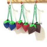 Mehrfachverwendbare Erdbeere-faltbare Beutel-Geschenk-Einkaufen-Beutel des Nylon-Bw1-080/des Polyester