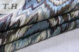 Tela del telar jacquar de la tapicería la tela del sofá del modelo del diente de sierra (FTH32138)