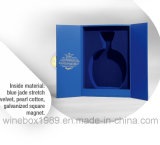 Rectángulo azul del vino del rectángulo de papel simple cómodo de la cartulina de Eco