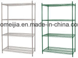5  Tiers  Metal  Wire  Display  Regal/Rack  for  System Mall