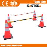 ABS交通安全のためのプラスチック引き込み式のトラフィックの円錐形棒障壁