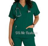 Dessus d'infirmière et jeu médicaux uniformes de bas