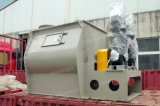 Mezclador horizontal del polvo de la paleta