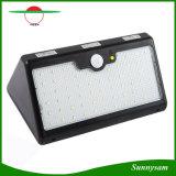 Bewegungs-Fühler-Solarlicht des im Freien wasserdichten der Sicherheits-Wand-Lampen-60 LED hohen Lumen-angeschaltenes PIR mit 3 Modi für Garten, Patio, Yard