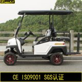 Багги гольфа 4 Seater электрическое с задним сиденьем кувырка