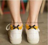 Kleid-freie Kollokation-Art-reine Farbe mit Bogen-Knöchel-Socken