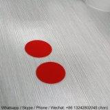 placa colorida de acrílico oval de 2m m para la decoración