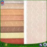 Tissu imperméable à l'eau de rideau en arrêt total de Jacquad franc de tissu de polyester de tissu tissé par textile pour l'usage de capitonnage