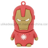 USB Flash Drive Iron Man PVC (UL-PVC014)