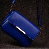 Leer van de Schouder van de Zak van de Manier van de Ontwerper van vrouwen het Bloem Afgedrukte Dame Handbag (3913)