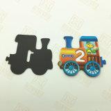 Gummimagnet mit Kunstdruckpapier für Kühlraum-Aufkleber