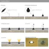 3W lampada esterna sotterranea di paesaggio LED dell'indicatore luminoso IP67 della PANNOCCHIA LED