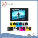 2.0 ' Ltps LCD 매우 HD 4k는 방수 활동 사진기 WiFi 비데오 카메라 스크린 이중으로 한다