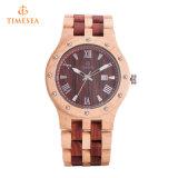 [هيغقوليتي] بيع بالجملة ساعة [وريستوتش] طبيعيّ خيزرانيّ ساعة خشبيّة 72665