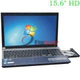"""15.6 """" notebooks PC du Quarte-Faisceau J1900 2.0GHz d'Intel Celeron de pouce avec DVD-RW (Q156J)"""