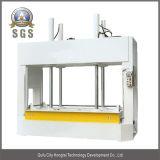 Tablón de la puerta de la prensa de planchar fría, máquina fría de la prensa de la carpintería