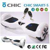 Neue Räder elektrischer balancierender intelligenter Roller, Hände des Entwurfs-zwei frei