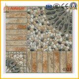 400X400 empedrado de piedra del azulejo de suelo rústico para el jardín