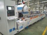 Centro fazendo à máquina automático de 3 linhas centrais do CNC do perfil de alumínio do aço de liga da parede de cortina