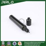 プラスチック点滴器のびん30ml 1ozの黒く細く長いプラスチックE液体の点滴器のびん