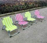 팔걸이를 가진 옥외 접히는 비치용 의자 여가 의자