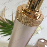 botella de acrílico de la loción del oro de 30ml Rose para el empaquetado del cosmético (PPC-ALB-059)