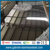 hoja de metal del acero inoxidable del espesor 304 de 1.0m m