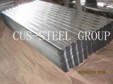 Toiture galvanisée par /Corrugated galvanisée enduite par zinc en métal de feuille de fer