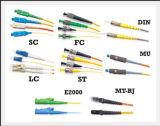 Koorden van het Flard van de Vezel LSZH van de Kern FC/LC van Sm van de Prijs van de fabriek de Duplex Optische