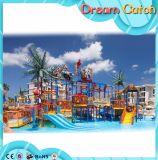 Kind-Spielplatz-im Freien riesiges Handelsfiberglas-Wasser-Plättchen