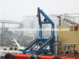 Apparecchio di lancio del tipo libero singola gru per barche del braccio del Luffing di gravità della lancia di salvataggio di caduta della barca di vuotamento del braccio della gru per barche con i certificati di CCS