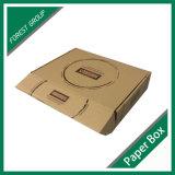 Carton ondulé en carton ondulé en marron Boîte à lettres Kraft