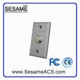 Contrôle d'accès antirouille acide de bouton de sortie de cas en alliage de zinc (SM70)