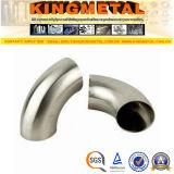 Long type ajustage de précision du coude BS4825 90 de pipe sanitaire inoxidable