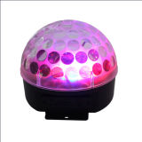 Mini Disco Magic LED Crystal Ball com amplificador