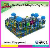 Le plastique de gosses joue le matériel d'intérieur de cour de jeu