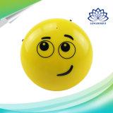 Altofalante sem fio de Bluetooth da face bonito do sorriso mini para o telefone móvel