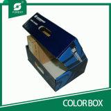 Плоский пакет складывая изготовленный на заказ коробку ботинка и коробки хранения ботинок