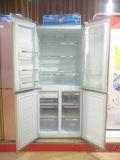 주문을 받아서 만들어진 분홍색 색깔을%s 가진 R600A 4 문 병렬 냉장고