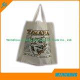 sac fait sur commande normal du coton 5oz, sac d'emballage ordinaire de coton