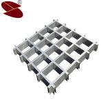 Topsale 2017 ISO9001: 2008 mattonelle del soffitto di griglia della griglia della lega di alluminio per l'ornamento interno