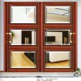 Portes en verre françaises en aluminium bon marché de Lowes de prix usine pour le Module de cuisine