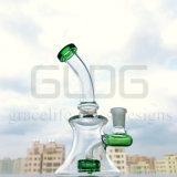 Waterpijp van het Glas van Banger van de Hanger van de Recycleermachine van het Ei Fab van Circ Perc van Gldg de Halve Kleine