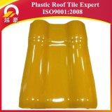 mattonelle di tetto di plastica di colore rosso di mattone della garanzia 30years asa