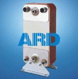 Titanio de la placa Ss304 Ss316 del cambiador de calor de la placa de Funke Fp04 Fp08