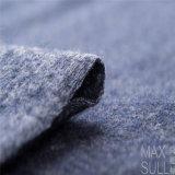 Wollen und Baumwollgewebe für Herbst im Marine-Blau